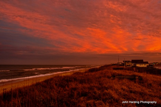 Sunset On The Northern Outer Banks  Posted to FLickr 1/1/2014